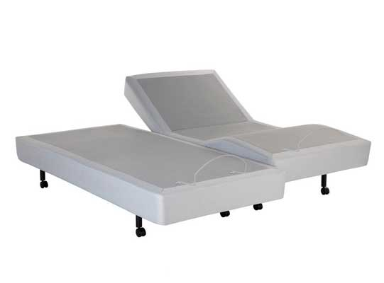 Leggett and Platt S-Cape Split Adjustable Full Body Massage Bed Base