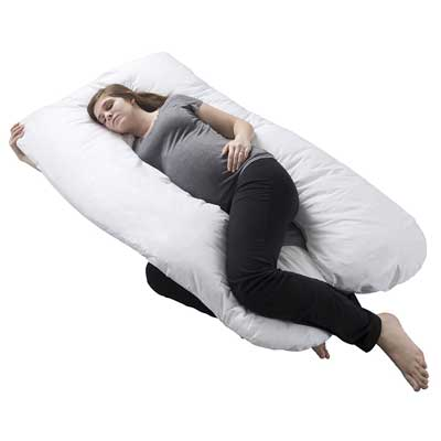 Pregnancy pillow, Full Body Maternity pillow by Bluestone