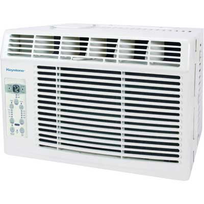 Keystone Window-Mounted Air Conditioner, 5,000 BTU