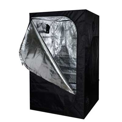 TMS 48x48x78 100% Reflective Mylar Hydroponics Indoor Grow Tent