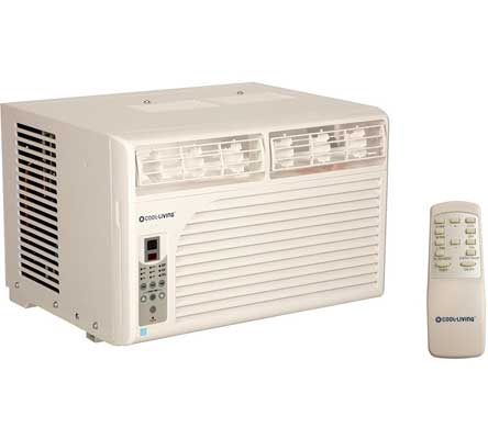 Cool Living 8,000 BTU Window Mount Air Conditioner Unit