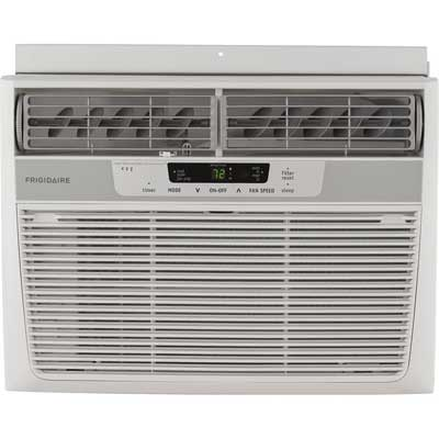 Frigidaire 10000 BTU Window-Mounted Air Conditioner, Remote Control