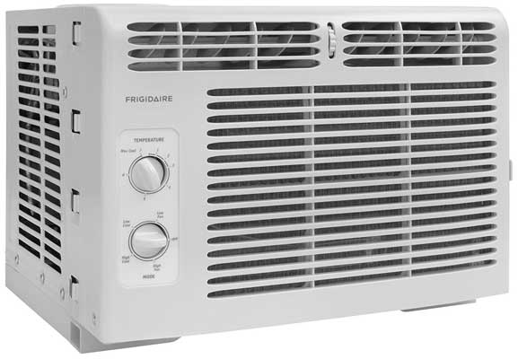 Frigidaire 115V Window-Mounted Mini-Compact Air Conditioner-5, 000 BTU
