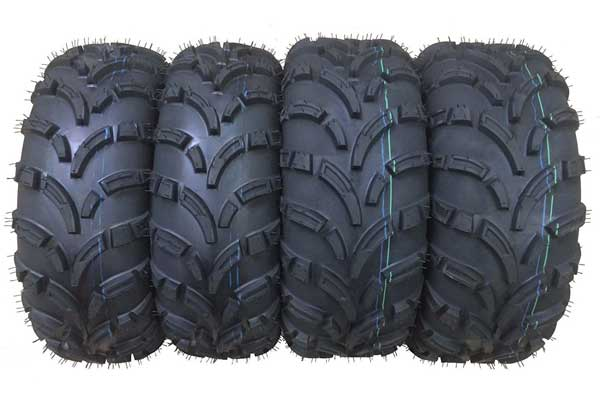 WANDA ATV/UTV Tires 6PR P373, Set of 4 Tires