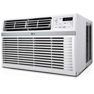 LG 12,000 BTU Window-Mounted Air Conditioner, 115V