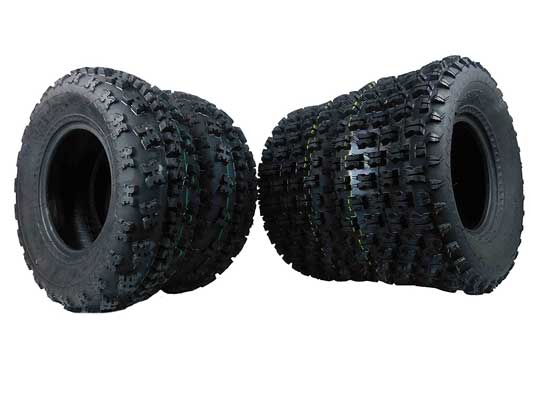 MASSFX Front and rear Tires ATV Tires –Pair