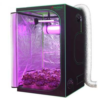 Amagabeli 4x4 Hydroponic Grow Tent