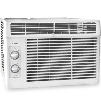 hOmeLabs 7-speed Window-Mounted Air Conditioner, 5,000BTU