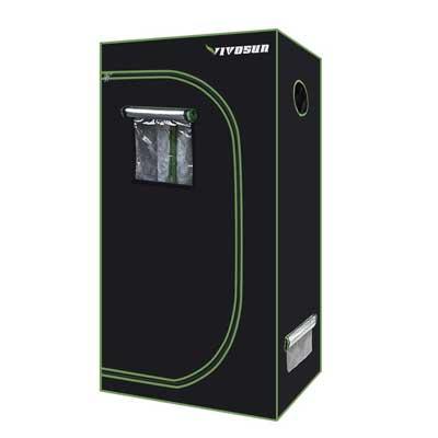 """VIVOSUN 36""""x20""""x62"""" Mylar Hydroponic Grow Tent"""