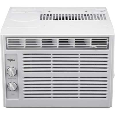 Whirlpool Window-Mounted Air Conditioner, 5,000 BTU