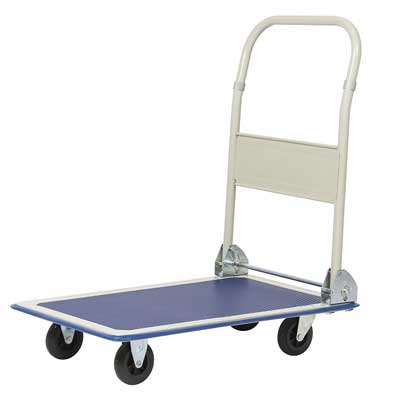 Best Choice Products Platform Cart Folding Dolly, 330lbs