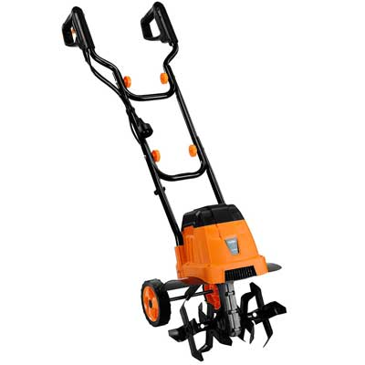 VonHaus 12.5-Inch 7 Amp Electric Garden Tiller and Cultivator