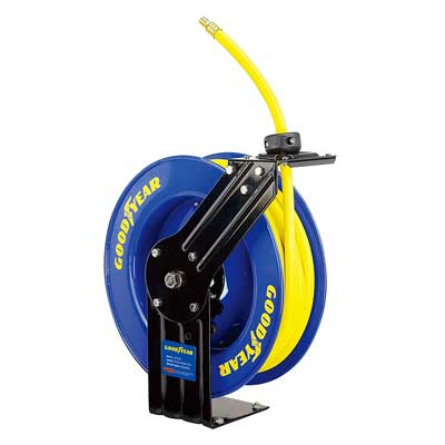 Goodyear L815153G Steel Retractable Air Compressor