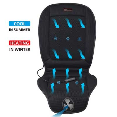 Snailax Cool and Heating Pad for Car Truck Home Office