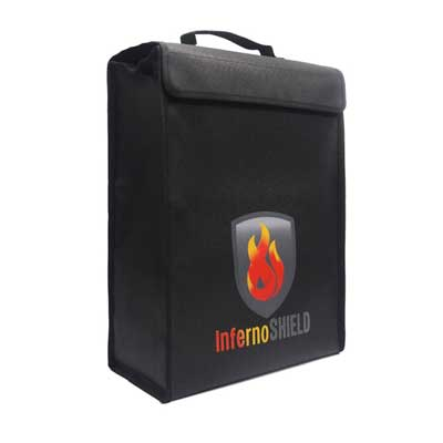 Fireproof Money and Document Bag By INFERNOSHIELD