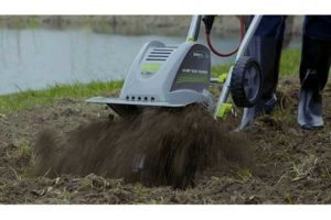best electric garden tillers reviews