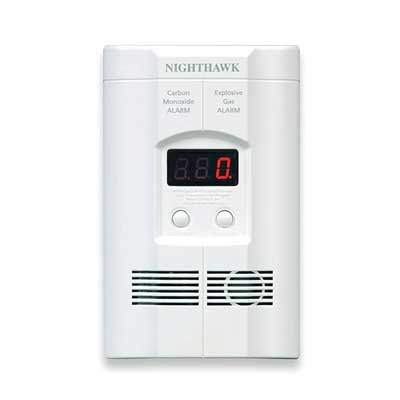 Nighthawk Plug-in Carbon Monoxide and Explosive Gas Alarm