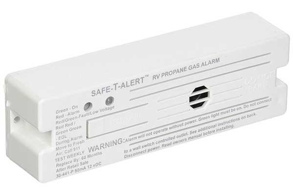 MTI Industries 30-441-P-WT Safe T Alert 30 Series Propane/LP Gas Alarm