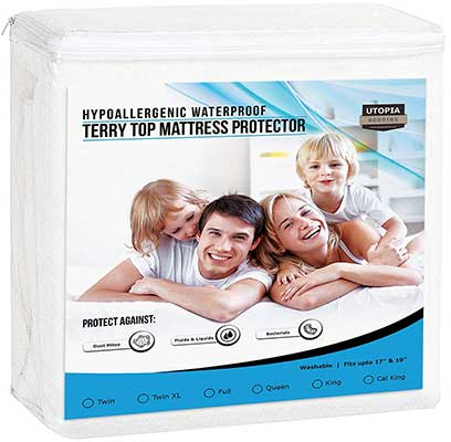 Utopia Bedding Premium Hypoallergenic Waterproof Mattress