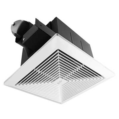 BV Ultra-Quiet 90 CFM, 0.8 Sone Bathroom Ventilation, and Exhaust Fan