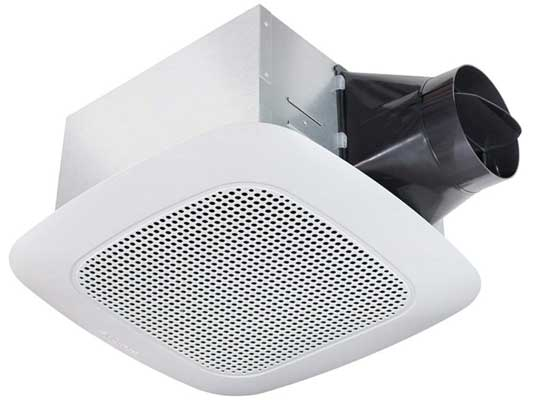 Delta BreezSignature VFB25ADBT 110 CFM Bath Exhaust Fan with Bluetooth Speaker