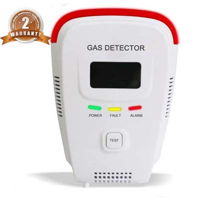 Propane/ Methane/Combustible Natural Gas Alarm Detector for home