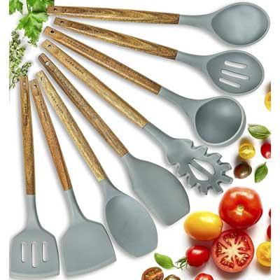 Ustensiles de cuisine en silicone HomeHero