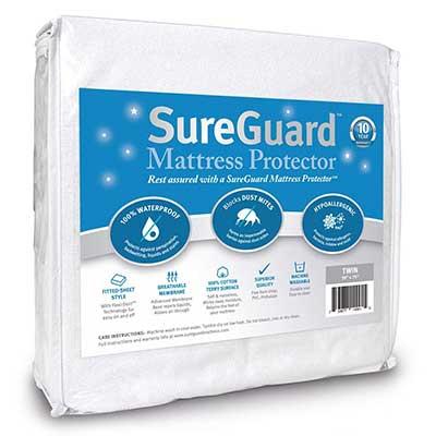 SureGuard Mattress Protectors Twin Size