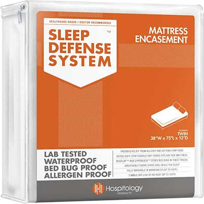 HOSPTILOGY PRODUCTS Sleep Defense System-Waterproof Bed