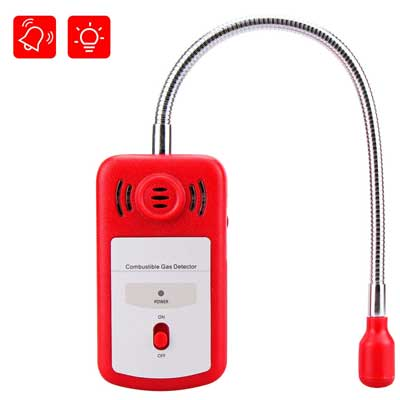Gas Leak Detector, Sungwoo Combustible Gas Detector, Natural Propane Methane Gas Leak Detector