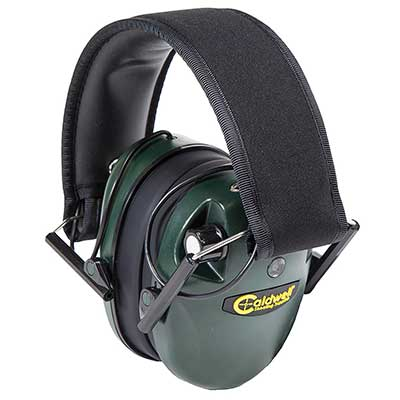 Calwell E-Max Low Profile Electronic 20-23 NRR Hearing Protection