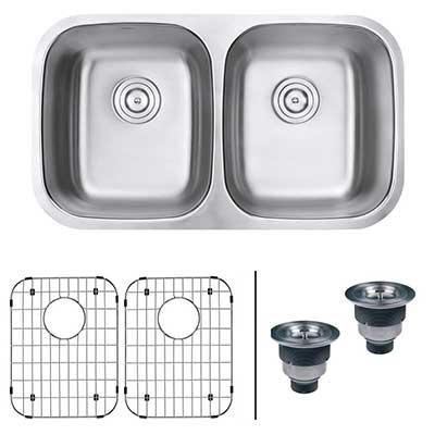 Ruvati 32-inch Undermount stainless steel kitchen sink