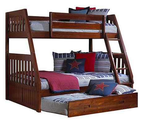 Discovery World Furniture Twin over Full Bunk Bed