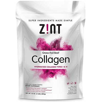 Zint Collagen Powder Collagen Peptides XL Powder Supplement