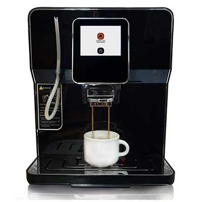 Buona Mattina Super Automatic Café Quality Espresso, Latte, Americano and Cappuccino Maker
