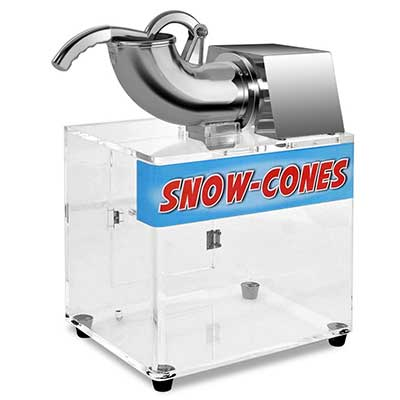 Costzon Electric Stainless steel Ice Shaver Machine Crusher