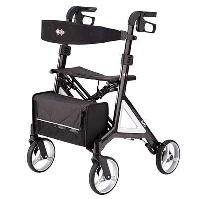 Designed by Porsche Design Studio B+B Alevo Carbon Walker Rollator