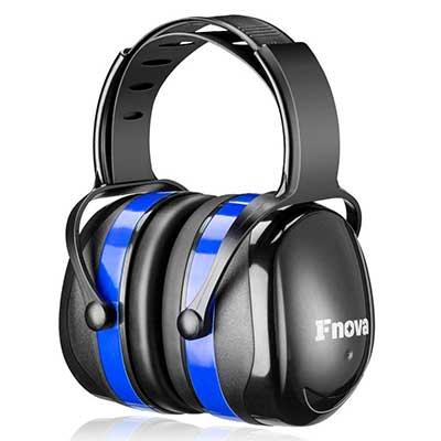 Fnova 34 decibels Highest NRR Safety Ear Muffs