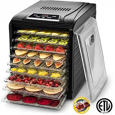 Gourmia GFD 1950 Electric Food Dehydrator Machine