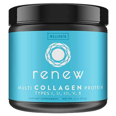 Wellpath Premium Blend of Hydrolyzed Multi Collagen Proteins Powder