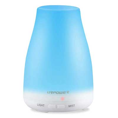 URPOWER 2nd Version Essential oil Diffuser Aroma Oil Cool Mist Humidifier