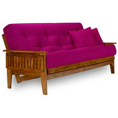Nirvana Futons Eastridge Futon Frame - Full Size, Solid Hardwood