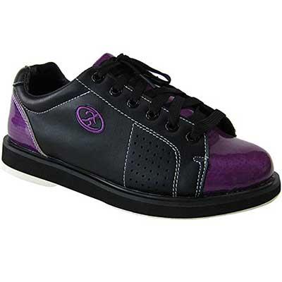 Elite Athena Black Purple Bowling Shoes