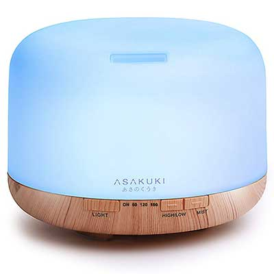 ASAKUKI 500ml Premium, Essential Oil Diffusser