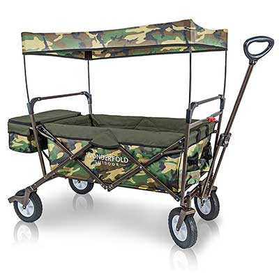 WonderFold Outdoor Multi-Purpose Value Model Collapsible Folding Wagon