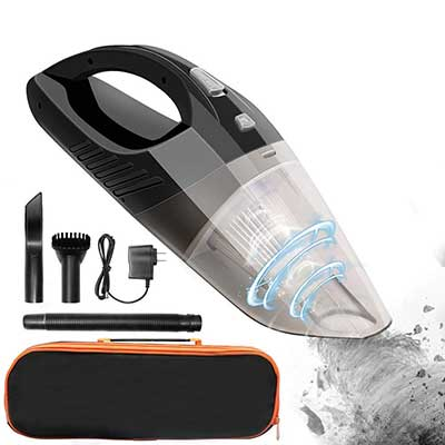 Rechargeable Cordless Handheld Vacuum, DOFLY Portable Car Vacuum Cleaner