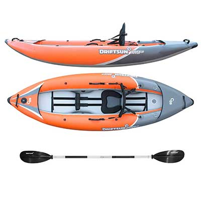 Driftsun Rover 120 Inflatable Whitewater Kayak