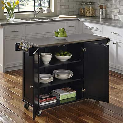 Home Styles 4513-95 Liberty Kitchen Cart