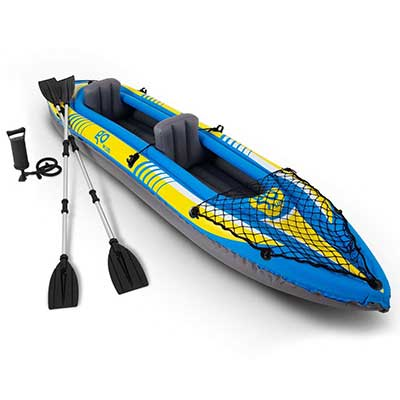 Goplus Inflatable Kayak 3 Separate Air Chambers