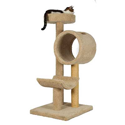Molly and Friends Three-Tier Scratching Post Furniture